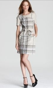 Burberry Brit Mischa Belted Check Dress 14